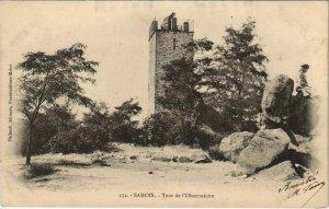CPA Samois Tour de l'Observatoire FRANCE (1101209)