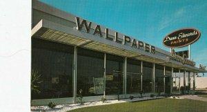 ANAHEIM , California , 1960s ;  Dunn Edwards Wallpaper & Paints Store