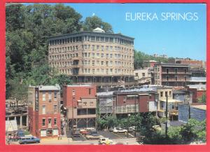 BASIN PARK HOTEL, EUREKA SPRINGS, ARK 1989  SEE SCAN  PC26