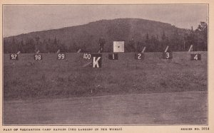 QUEBEC, Canada, 1900-1910's; Part Of Valcartier Camp Ranges (The Largest In T...