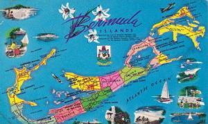 Bermuda Map of Bermuda Islands