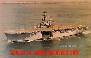 Apollo 14 Lunar Recovery Ship, USS New Orleans Military Battleship Unused