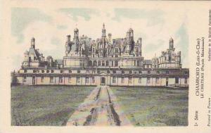 France Chambord Le Chateau Facade Meridionale