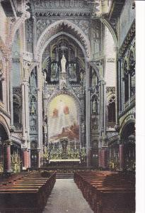 Interior Sacred Heart Chapel , Notre Dame Church , MONTREAL , Quebec , Canada...