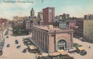 WINNIPEG, Manitoba, Canada, 1900-10s; Market Square, Civic Offices Building
