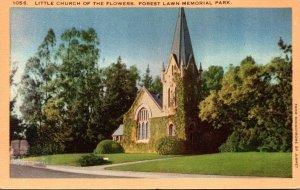 California Glendale Little Church Of The Flowers 1951