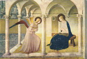 Italy Firenze Museo San Marco L'Annunciazione