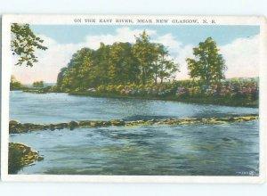 W-border RIVER SCENE New Glasgow Nova Scotia NS AE6454