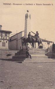 Monumento A Garibalai E Vittorio Emanuele II, Fiesole (Tuscany), Italy, 1900-...