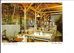 Edison Museum, Chemical Laboratory, Fort Myers, Florida, Interior
