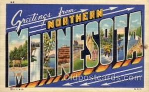 Northern Minnesota Large Letter Town Towns Post Cards Postcards  Northern Min...