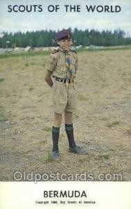 Bermuda Boy Scouts of America, Scouting Postcard, Post Cards, Copyright 1968 ...