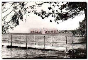 Postcard Modern Hermancia View Towards Tougues Boat