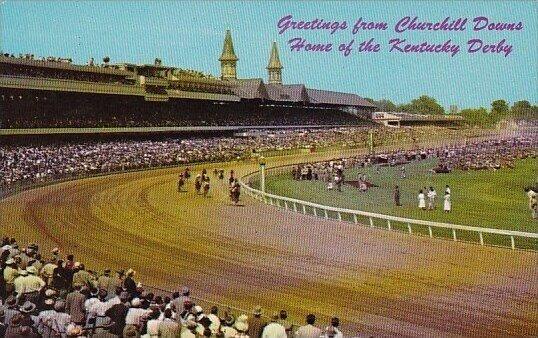 Churchill Downs Home Of The Kntucky Derby Louisville Kentucky