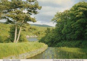 Waterfall at Anglezarke Lancashire Postcard