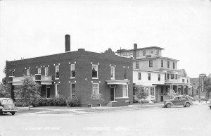 G32/ Fairbury Nebraska RPPC Postcard c1940s Lynch Clinic Building