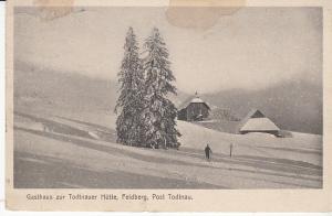Todtnau - Todtnauer Hutte PC w/Hotel Stamp 1912