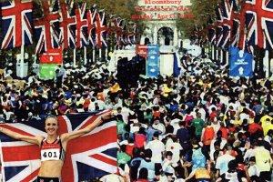 Sally Gunnell Athletics Ephemera Collectors Exhibition Advertising Postcard