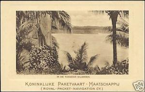 KPM - indonesia, TANGEAN Islands, Panorama - K.P.M.