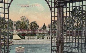 WESTBURY , L.I. , New York , 1918 ; Italian Garden, J.S. Phipps