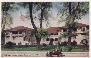 DENVER, Colorado, 1900-1910's; Old Ladies' Home