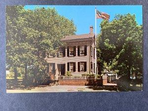 Abraham Lincoln's Home Springfield IL Chrome Postcard H1164090618