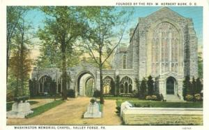 Washington Memorial Chapel, Valley Forge, Pa 1931 used Po...