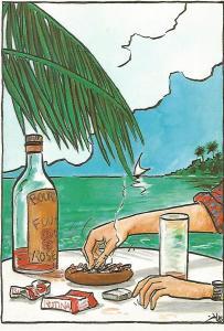 Postal 51917: KIKO FERIA - En las Bahamas
