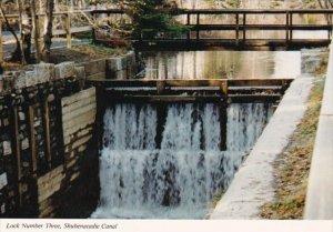 Canada Nova Scotia Lock Number Three Shubenacadie Canal