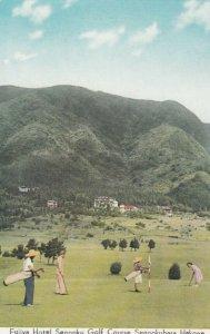 HAKONE, Japan, 1920-30s; Fujiya Hotel, Sengoku Golf Course, Sengokubara