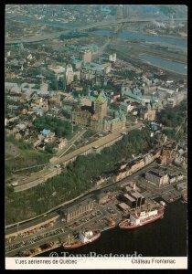 Vues aeriennes de Quebec - Chateau Frontenac