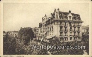 Royal Hotel LaUSA nne Swizerland Unused