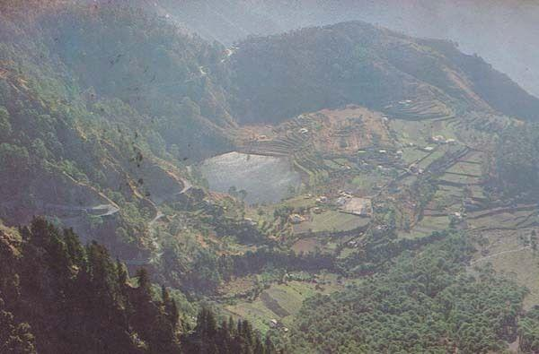 Khurpatal India Indian Postcard