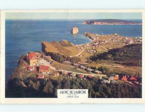 Pre-1980 TOWN VIEW SCENE Perce - Gaspe Peninsula Quebec QC p9876