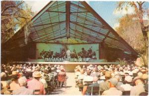 Band Shell, Williams Park, St. Petersburg, Florida, FL, pre-zip code Lusterchrom
