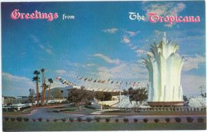 Greetings from The Tropicana Las Vegas Nevada NV