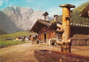 Germany Schoene Alpenwelt Die Eng-Alm im Karwendel