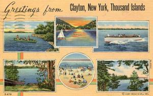 NY - Clayton. Thousand Islands Multi-View