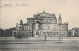 Dresden - Germany Hoftheater 01.18