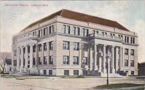 Nebraska Lincoln University Temple 1908