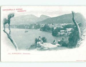 Pre-1907 NICE VIEW Sorrento Italy i5336