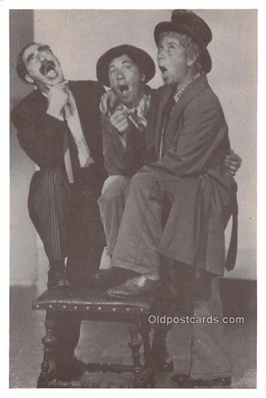 Marx Brothers Movie Star Actor Actress Film Star Postcard, Old Vintage Antiqu...
