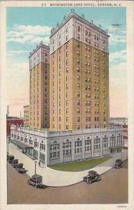 North Carolina Durham Washington Duke Hotel