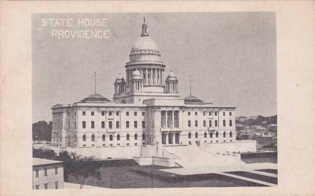 The State House - Providence RI, Rhode Island - UDB
