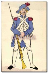 Old Postcard History of Costume French Revolution in 1792