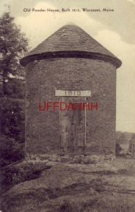 OLD POWDER HOUSE, WISCASSET, ME. 1951