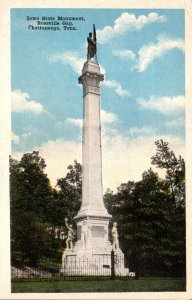 Tennessee Chattanooga Rossville Gap Iowa State Monument