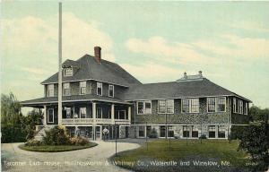 Watervillle-Winslow Maine~Taconnet Club House~ Hollingsworth & Whitney Paper~'10