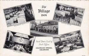 COLORADO SPRINGS, Colorado, 30-40s; Village Inn, 5-Views