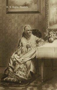 Romania, Queen Carmen Sylva, Elisabeth of Wied (1910s) RPPC Postcard (1)
